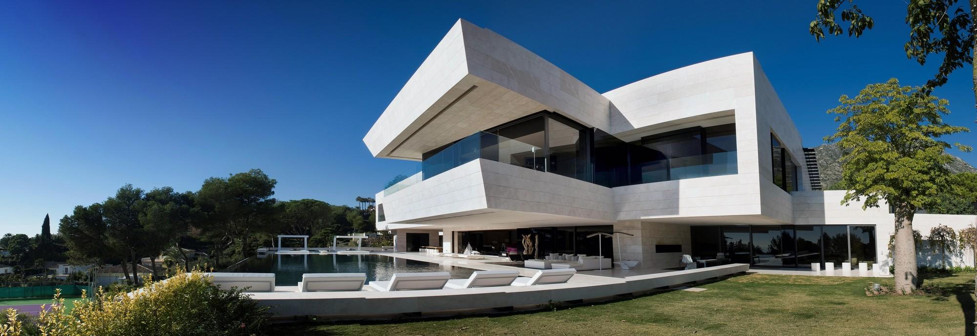 Vivienda unifamiliar en marbella a cero plataforma - Arquitectos en marbella ...