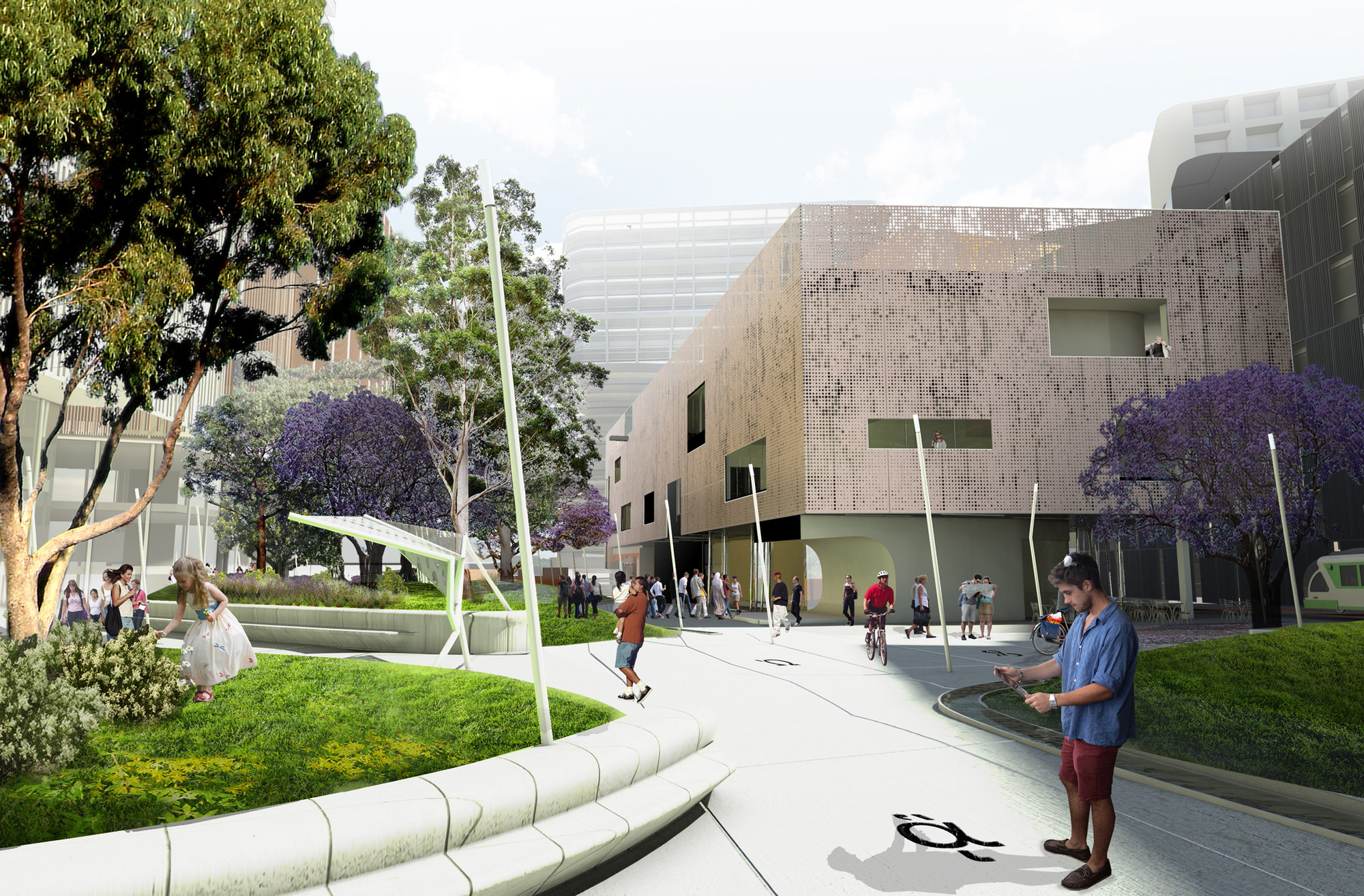 Green Square Library And Plaza Competition Entry Felix