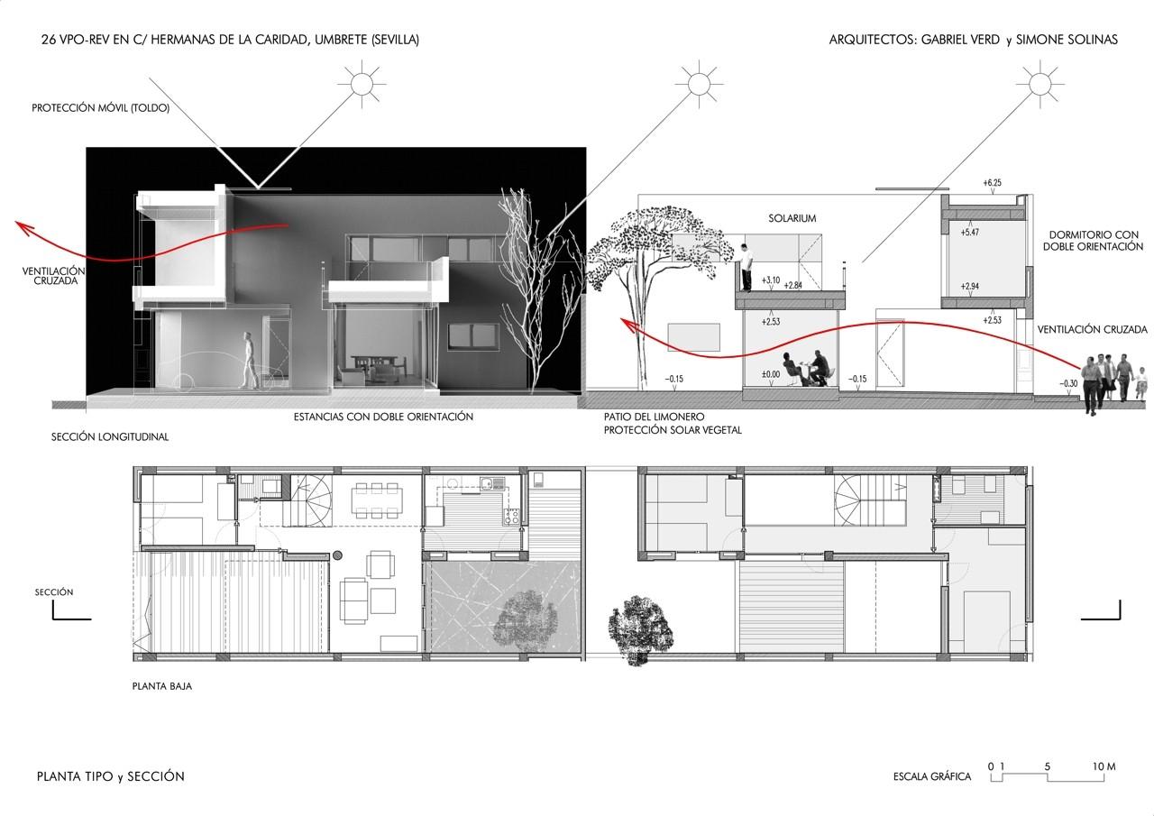 26 viviendas en umbrete gabriel verd arquitectos for Alquiler casa en umbrete sevilla