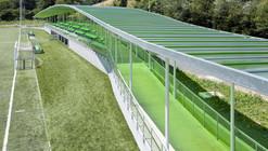 Campo de Fútbol Sopuerta / JAAM sociedad de arquitectura