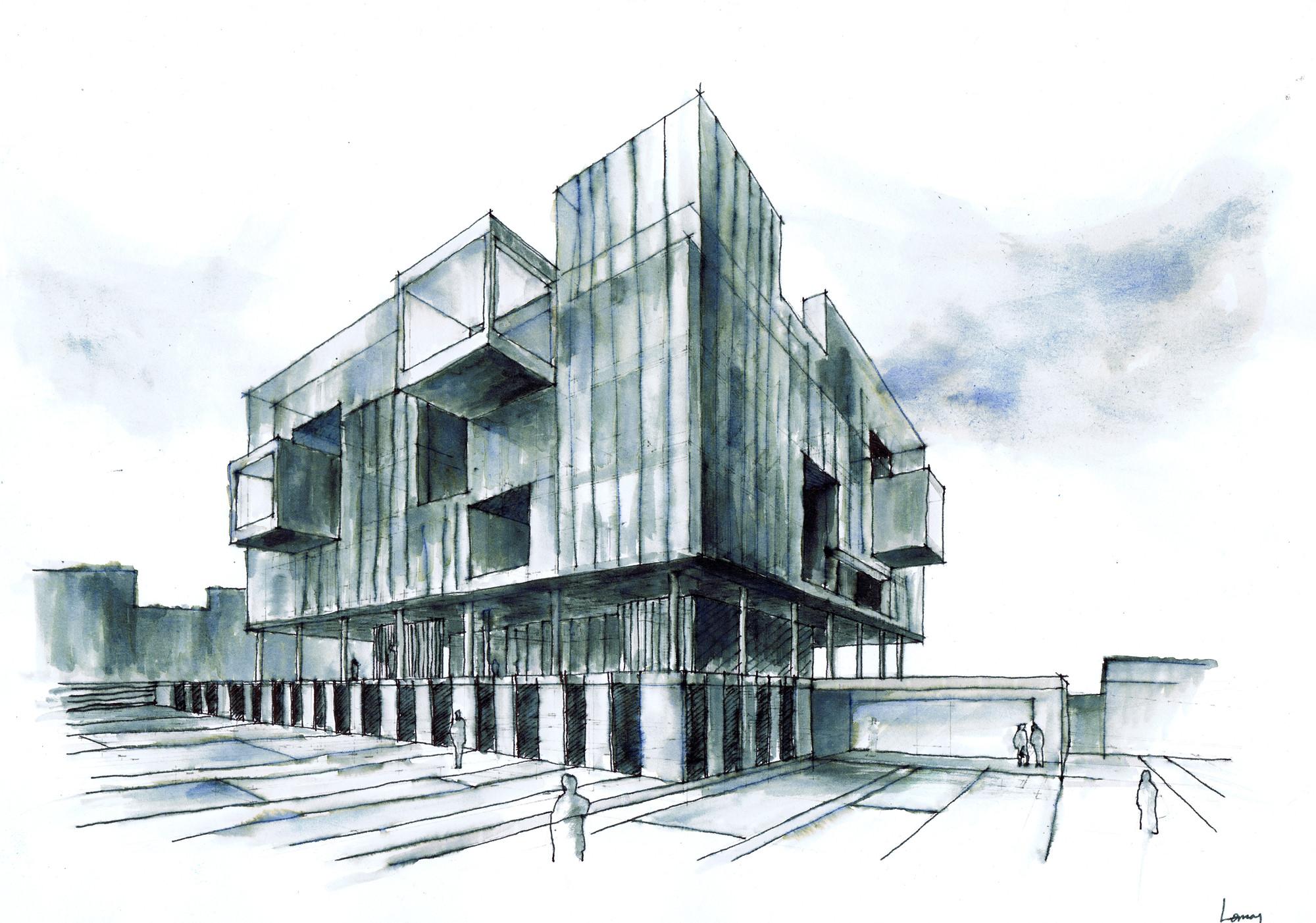 Technal en la nueva comisar a fuencarral el pardo voluar for Arquitectura de proyectos