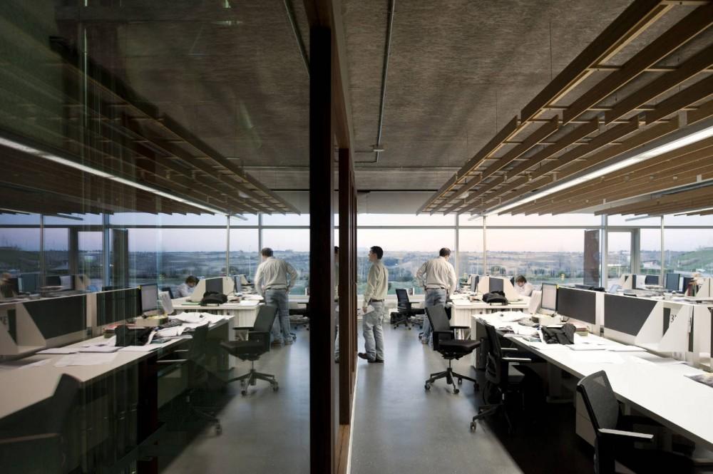 Galer a de oficinas idom de madrid acxt arquitectos 18 - Arquitectos interioristas madrid ...