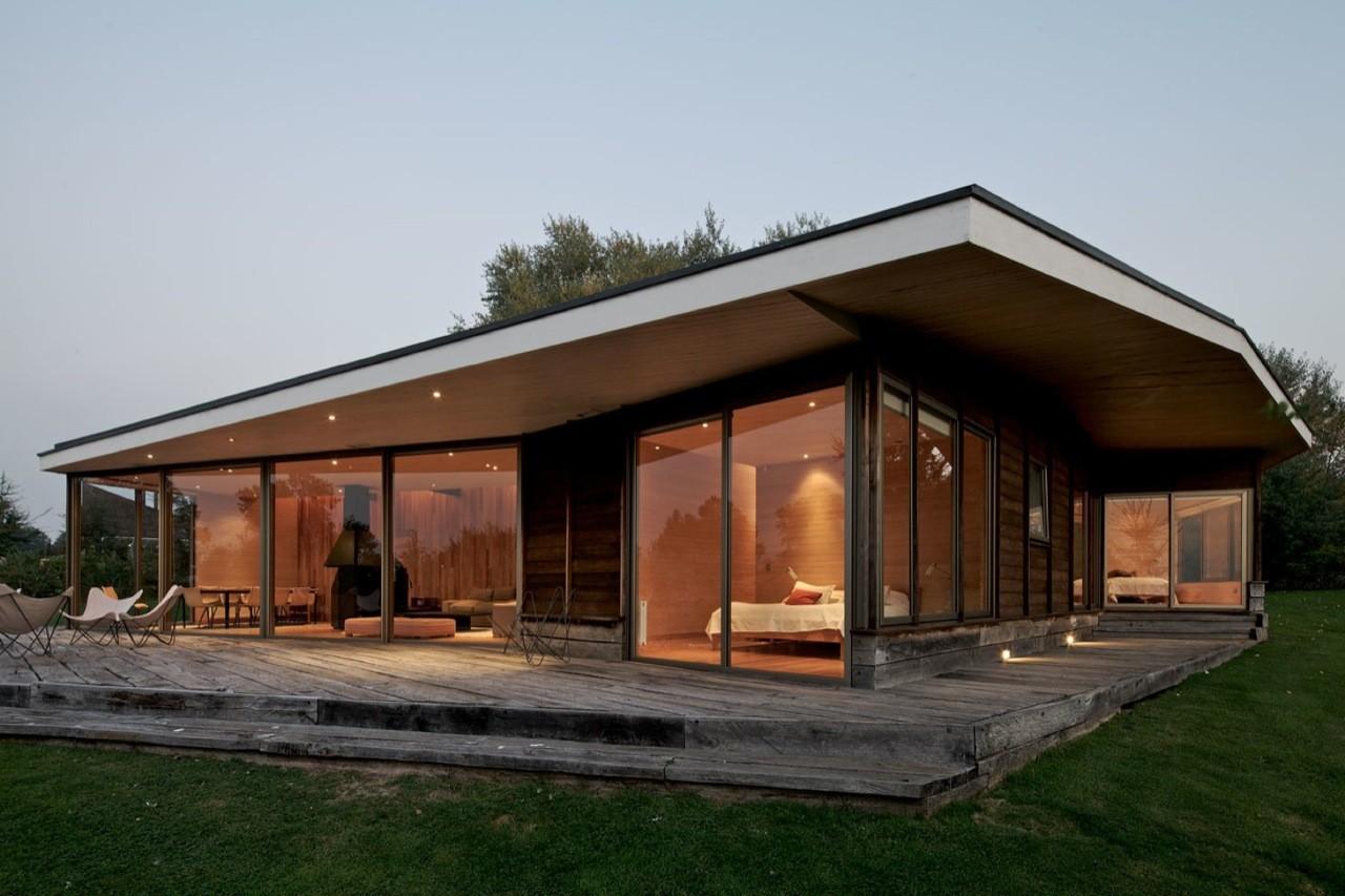 Casa villarica 2 mobil arquitectos plataforma arquitectura - Arquitectura en madera ...