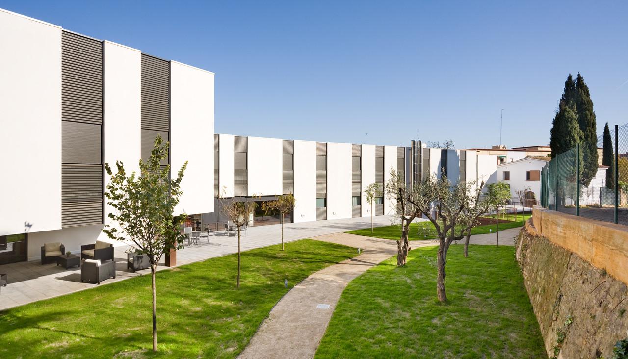 Arquitectura Geriatrica Of Galer A De Residencia Geri Trica Mas Piteu Estudi Psp