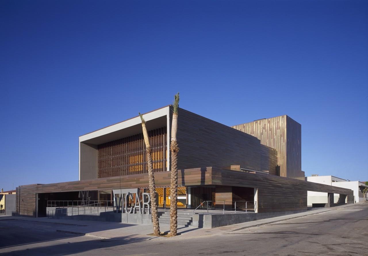 Vicar Theatre / Gabriel Verd Arquitectos | ArchDaily