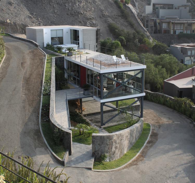 Casa mirador arquitectos archdaily per for Estructuras para arquitectos pdf