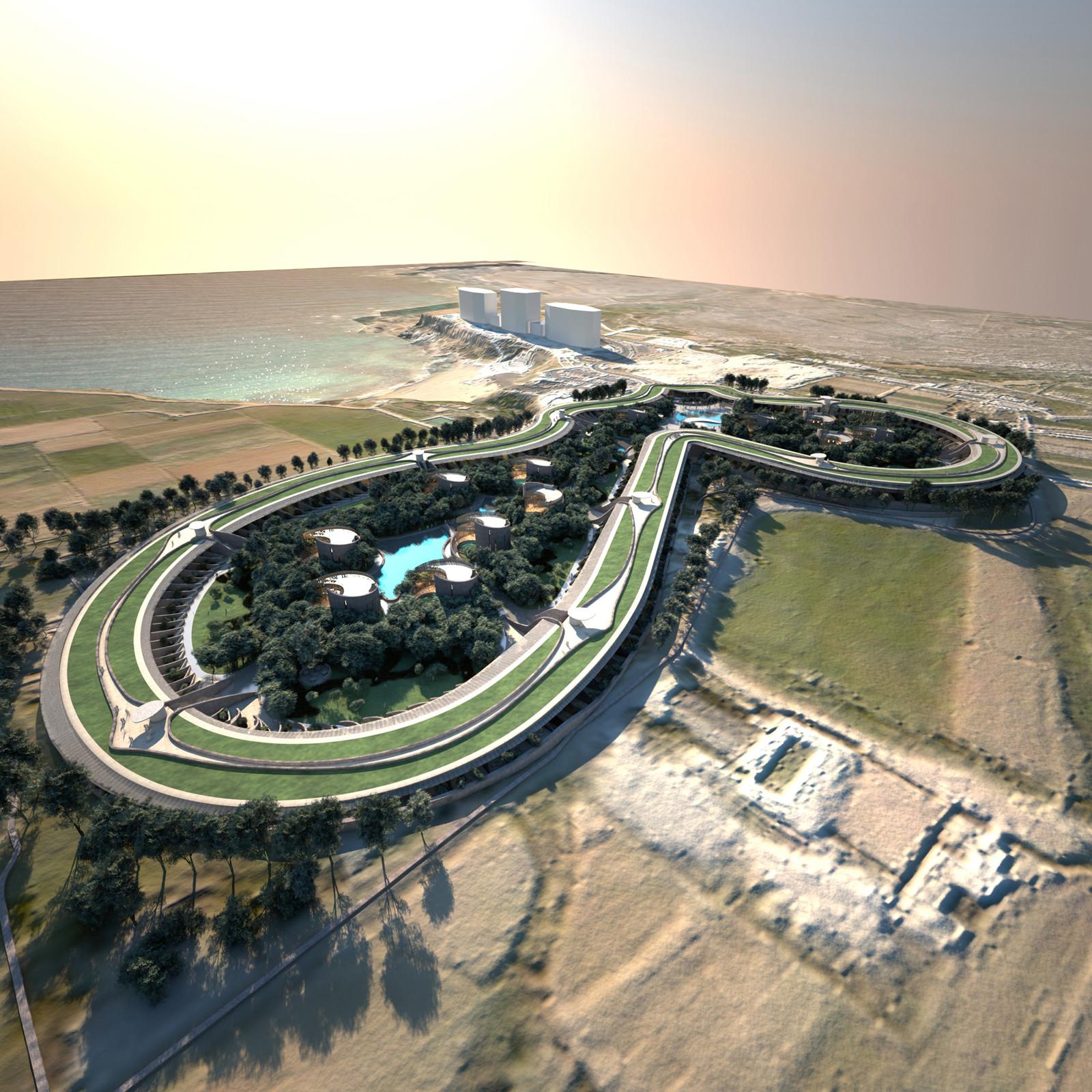Luxury Resort Proposal / Make Architects, © Make Architects