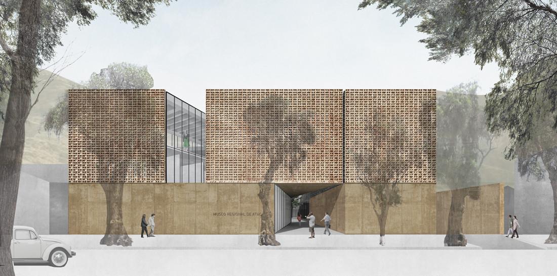 Primer Lugar Concurso Museo Regional de Atacama / Máx Nuñez Arquitectos, Cortesia de Max Nuñez Arquitectos