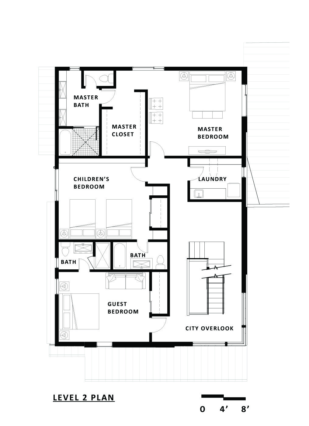 Gallery of shift top house meridian 105 architecture 13 for Great small house plans