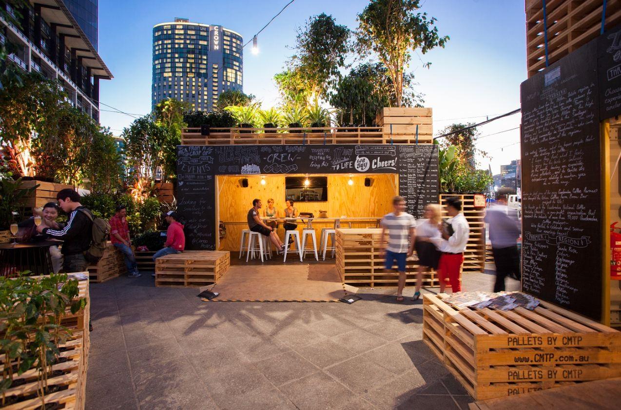 בית קפה וחוות קפה עירונית של Hassell 3