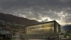 Cinema Hall of Locarno Film Festival Proposal / Mauro Turin Architectes