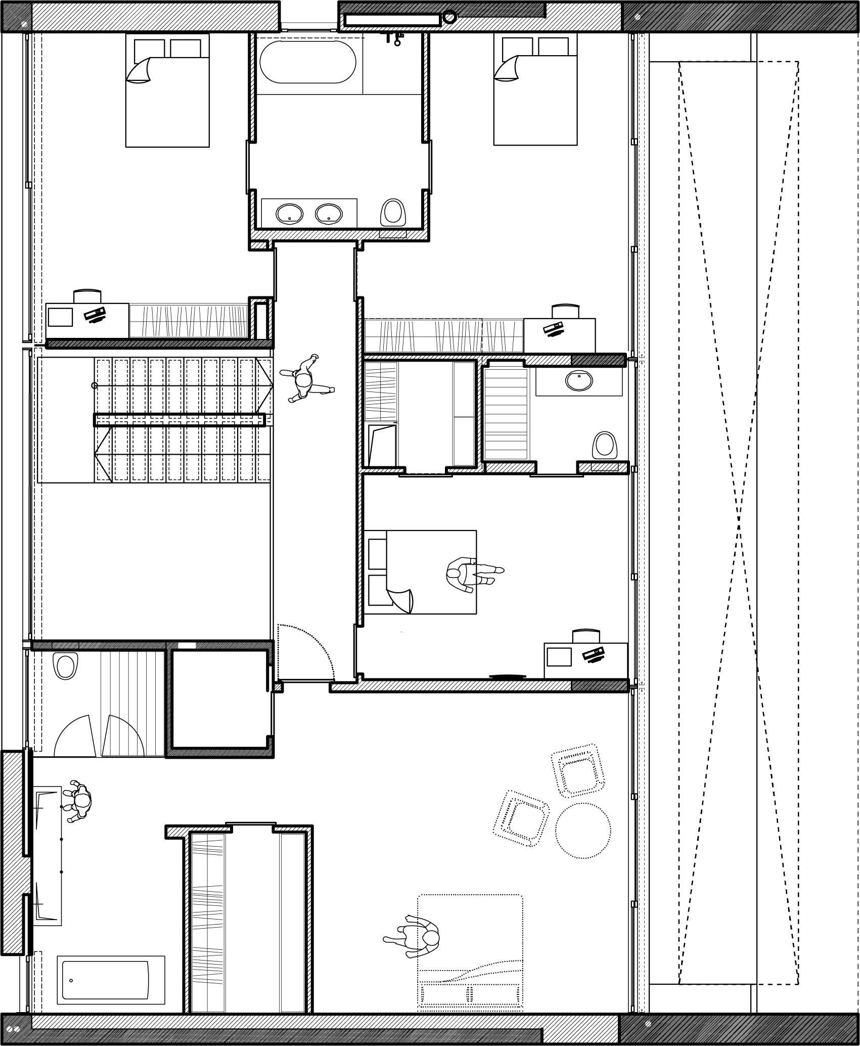 Small Cabin Blueprints Gallery Of Kfar Shmaryahu House Pitsou Kedem Architects 21