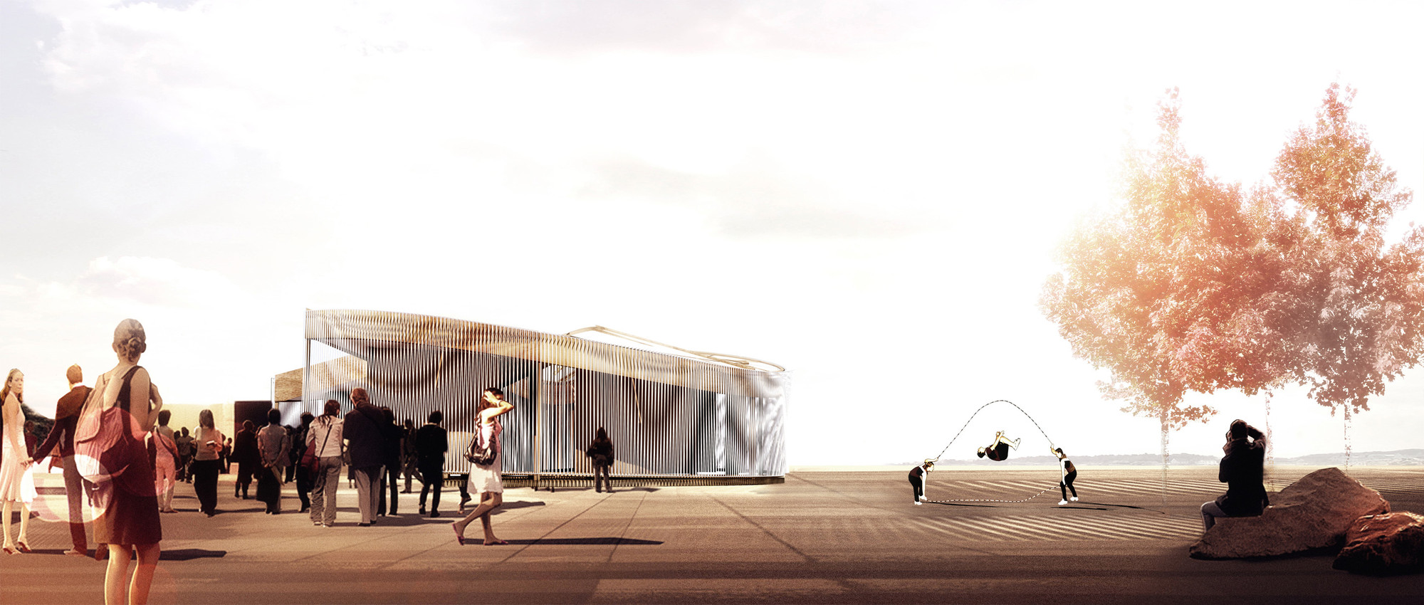Weaving In-Tension (WIT) Pavilion: Operalab Competition Entry / Meta- Studio, Courtesy of Meta- Studio