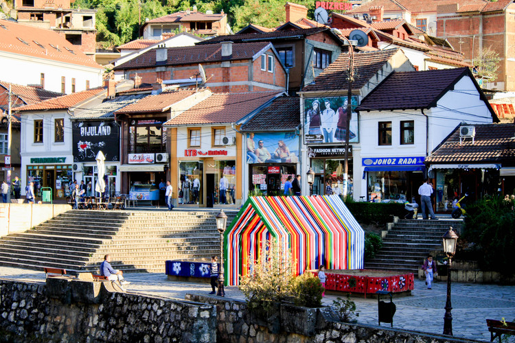 Pavilhão EU  / Senat Haliti, Courtesy of S. Haliti & M. Azizi