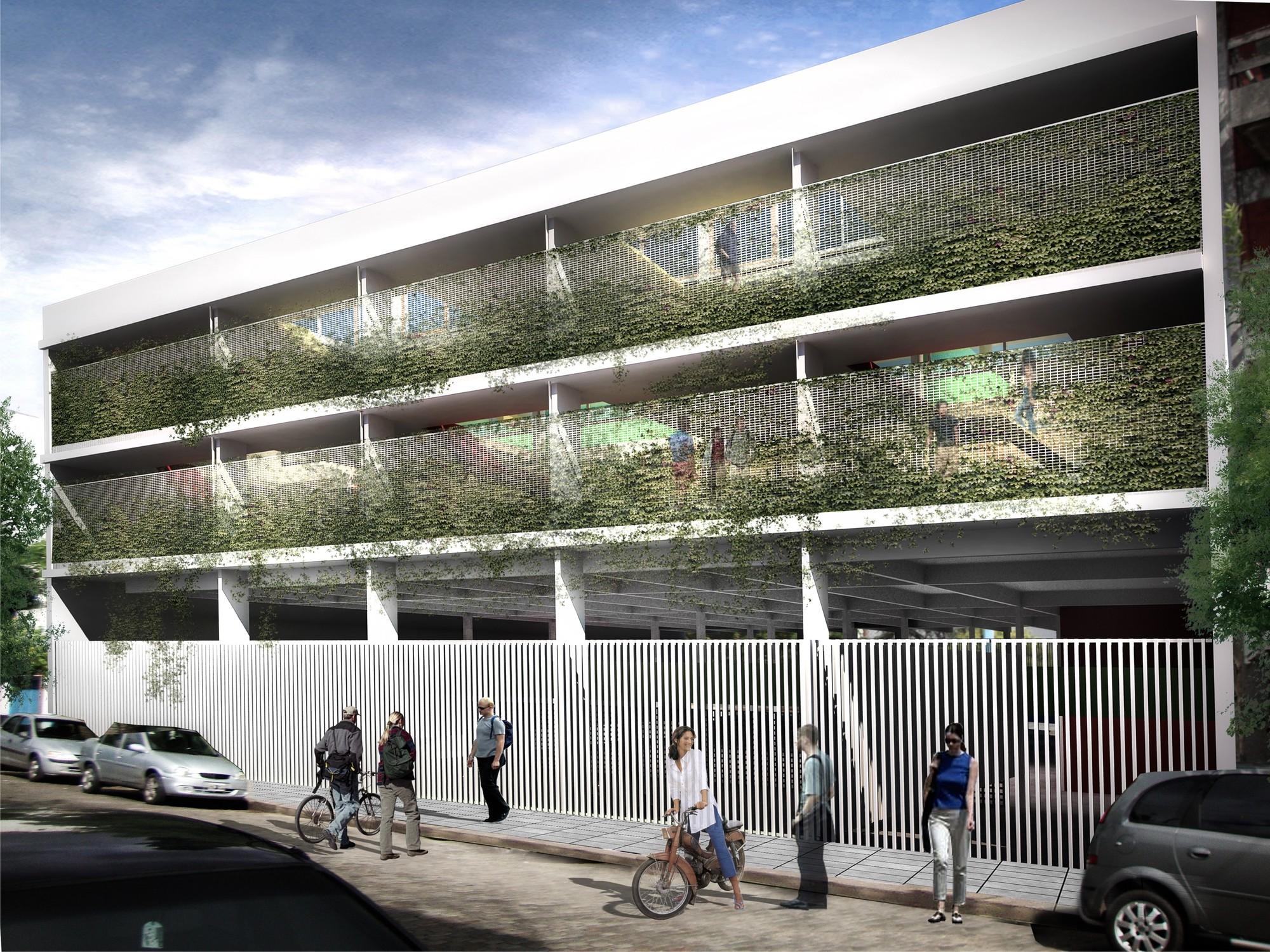 Galeria de men o no concurso hacia una nueva for Hacia una arquitectura
