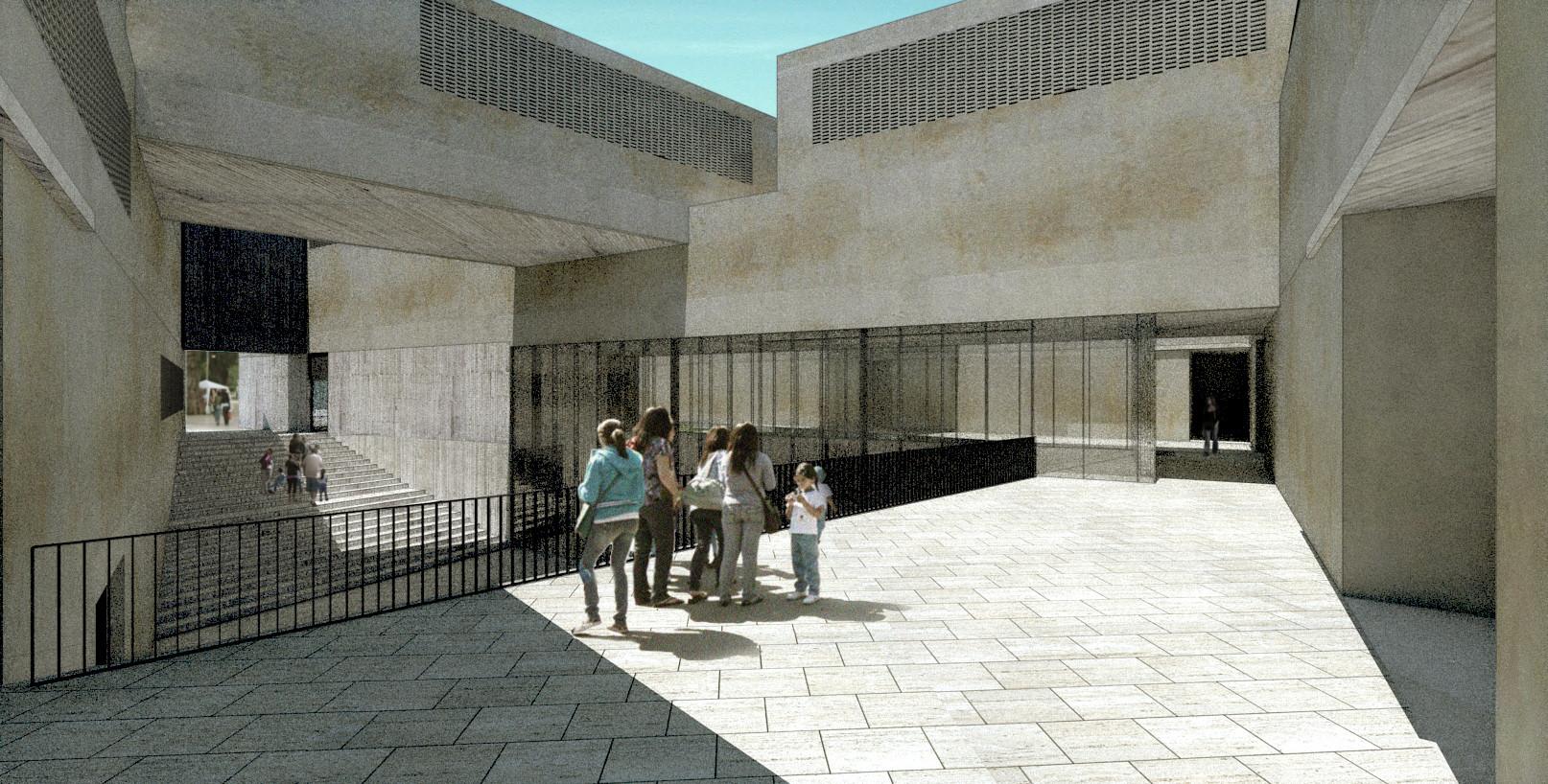 Propuesta para el Museo Regional de Atacama / David Rodriguez Arquitectos + Combeau & De Iruarrizaga Arquitectos, Cortesia de David Rodriguez Arquitectos + Combeau & De Iruarrizaga Arquitectos