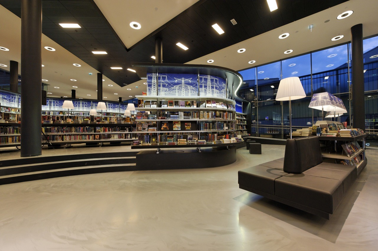 De nieuwe Bibliotheek Almere / Concrete Architectural Associates, © Wim Ruigrok