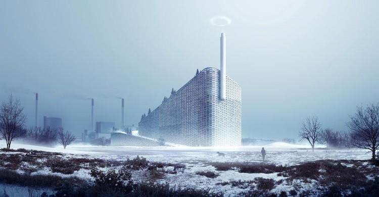 Começa a construção da usina de reciclagem de BIG, © BIG-Bjarke Ingels Group