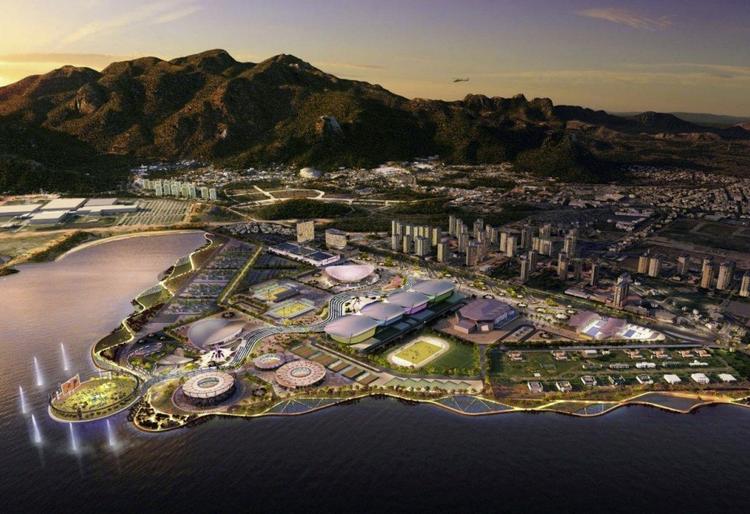 Arquitetos Britânicos buscam oportunidades de infraestrutura no Brasil, Planejamento de AECOM para o Parque Olímpico Rio 2016