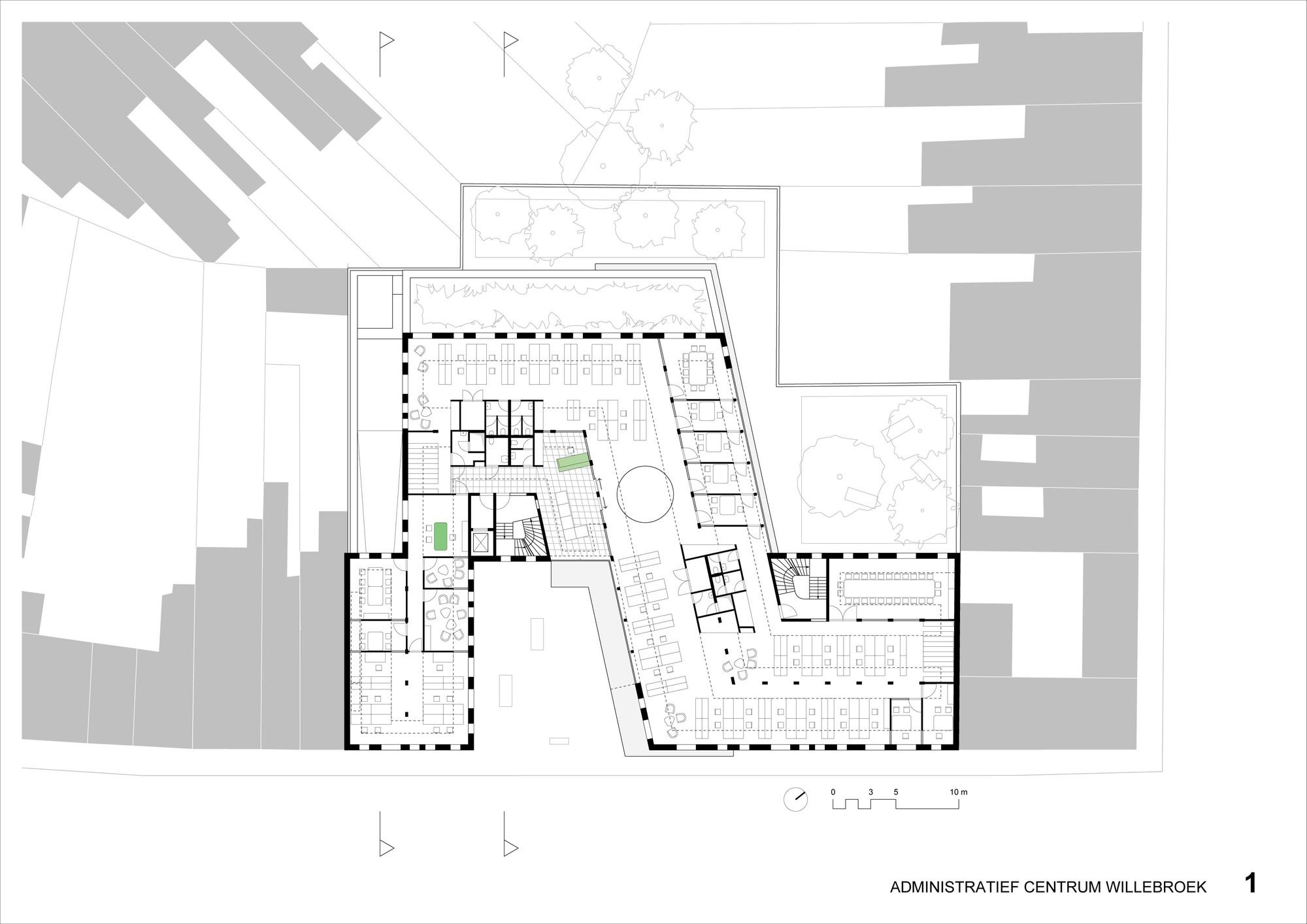 Gallery Of Willebroek Administration Building Brut 34