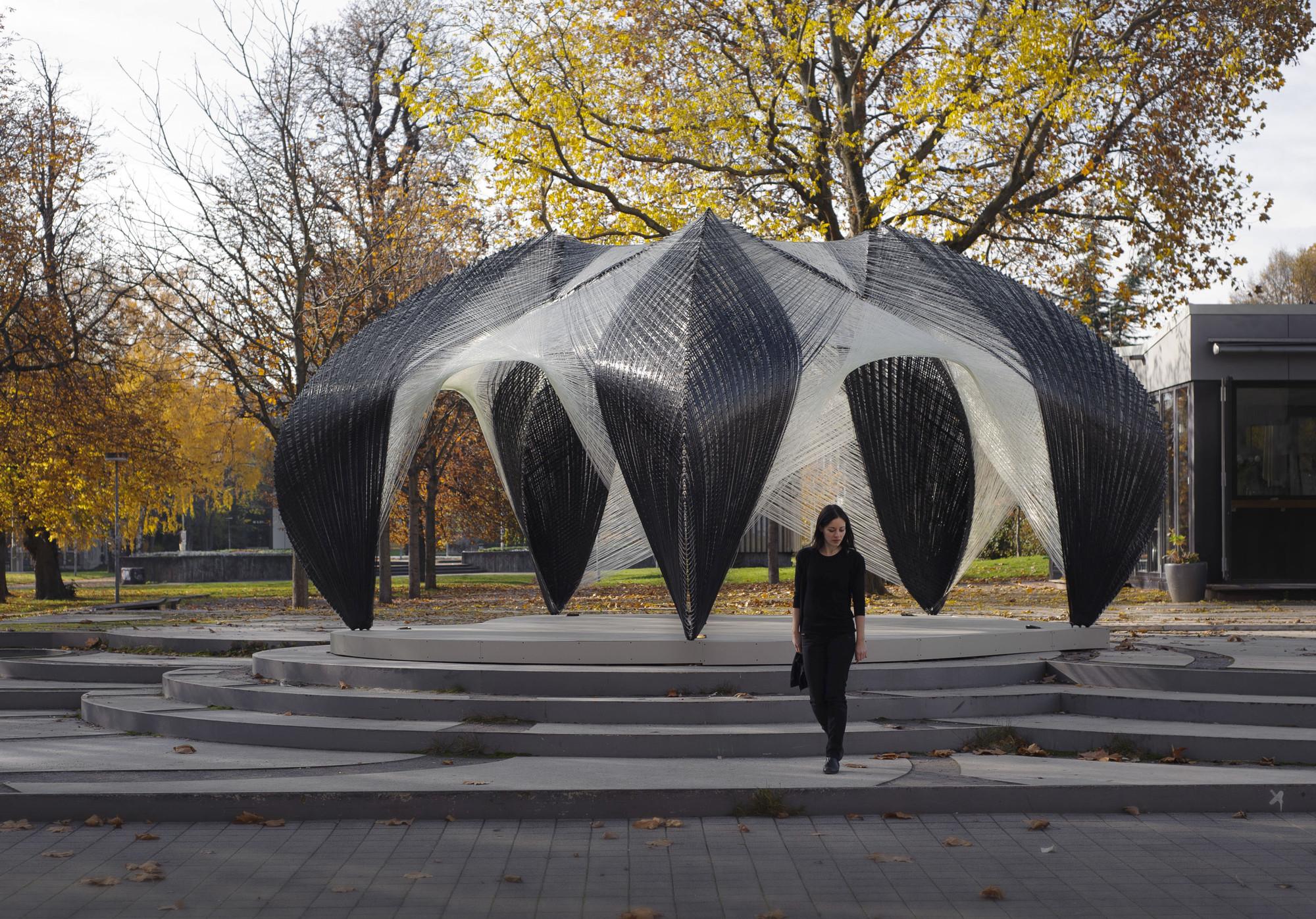 Architects Stuttgart icd itke research pavilion of stuttgart faculty of