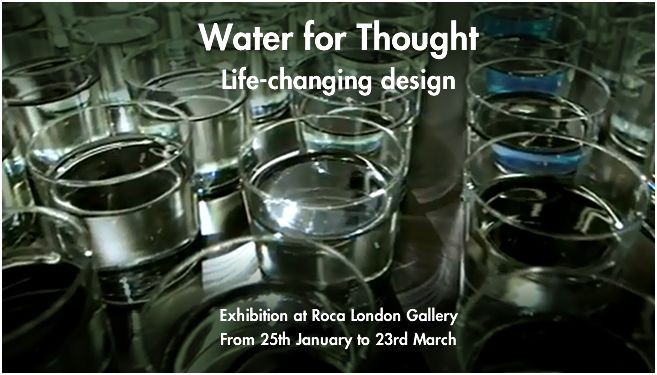 'Water for Thought: Life-Changing Design' Exhibition, Courtesy of We Are Water Foundation