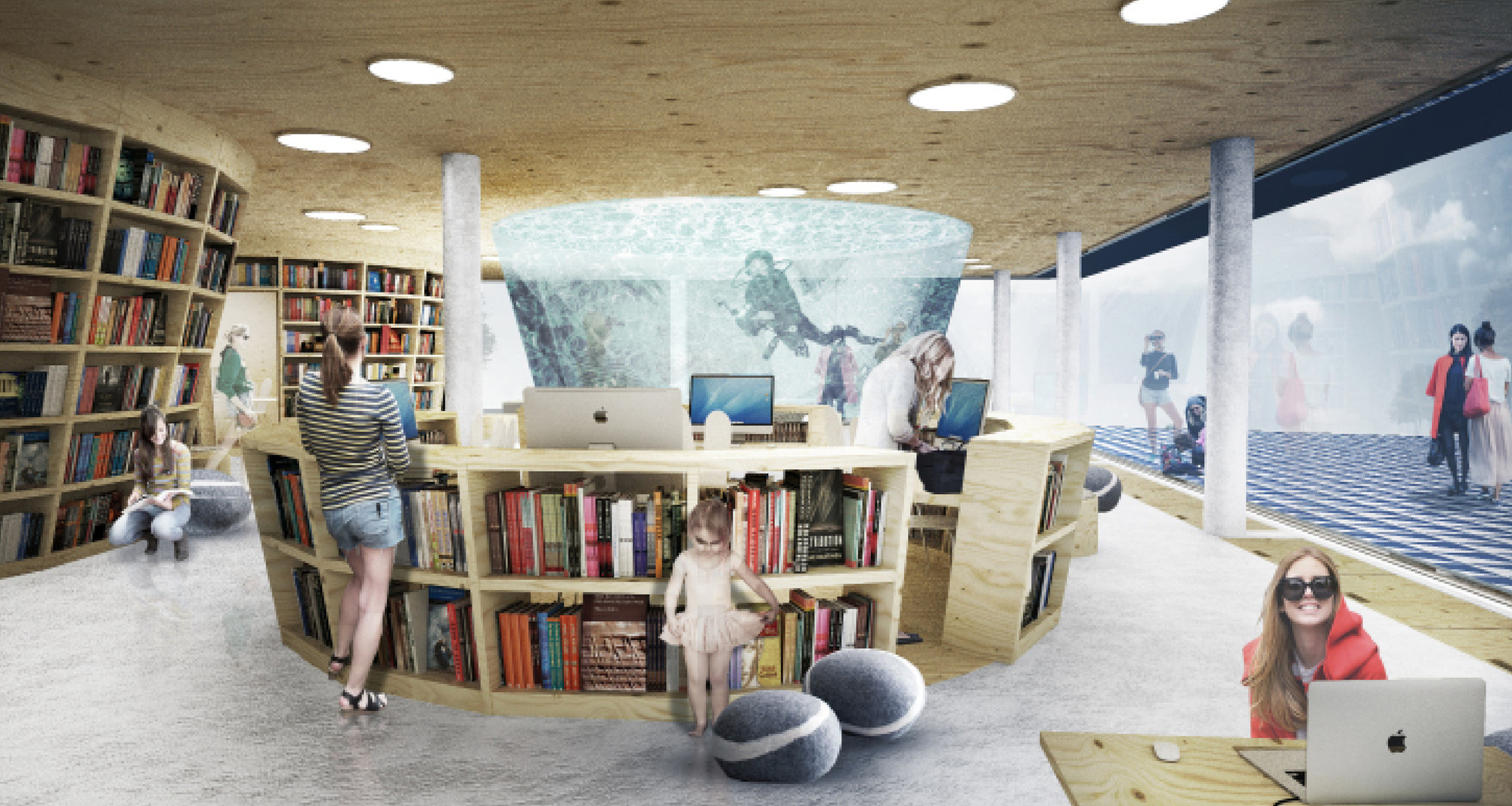 Gallery Of Culture Island Public Library Proposal Ugo