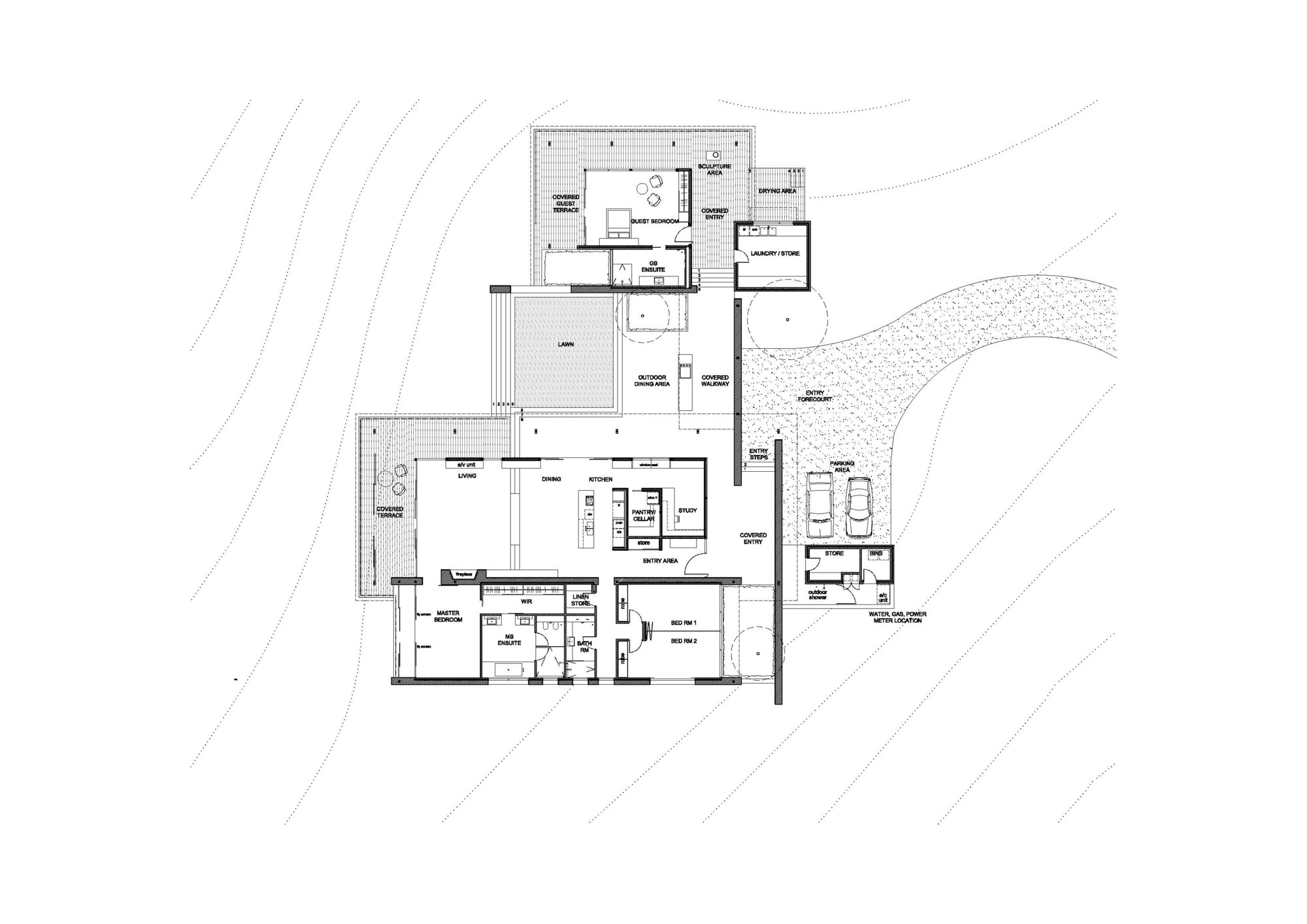 House plans western australia for Western floor plans