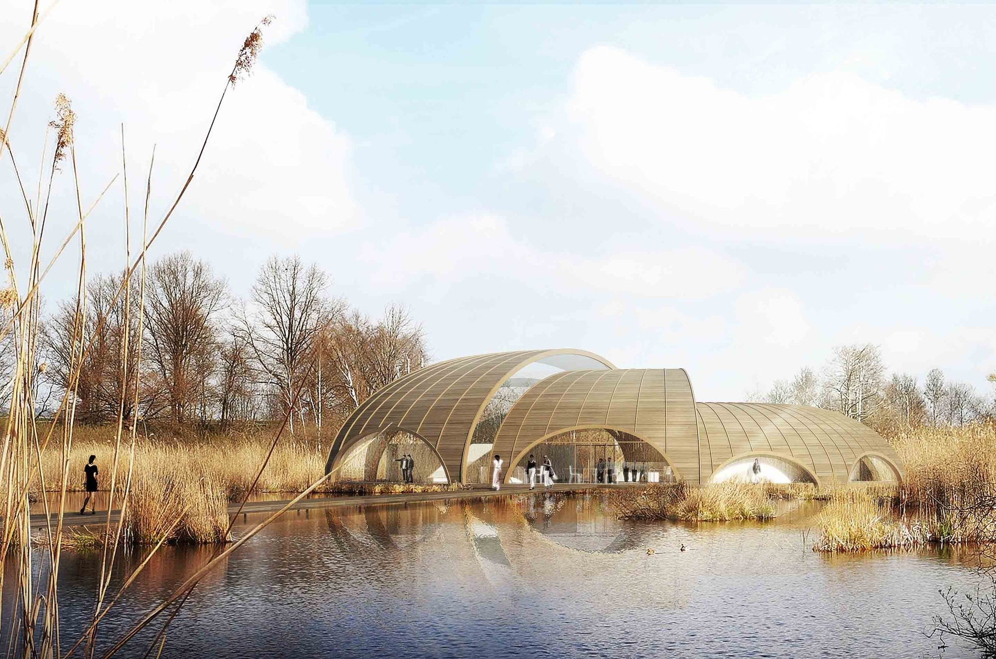 Living Landscape: The Great Fen Visiting Center Proposal / Atelier CMJN, Courtesy of Atelier CMJN