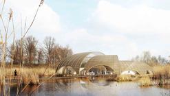 Paisaje Viviente: Propuesta para el Centro de Visitantes Great Fen / Atelier CMJN