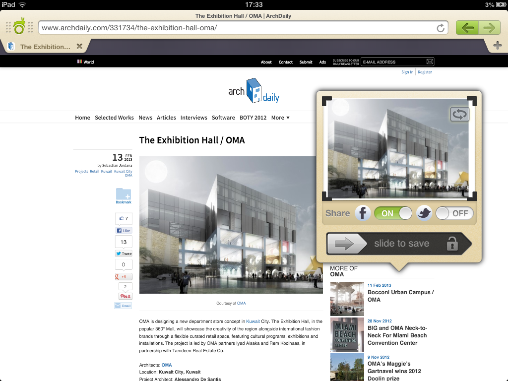 Gallery of ArchDaily App Guide: Webnotes - 3