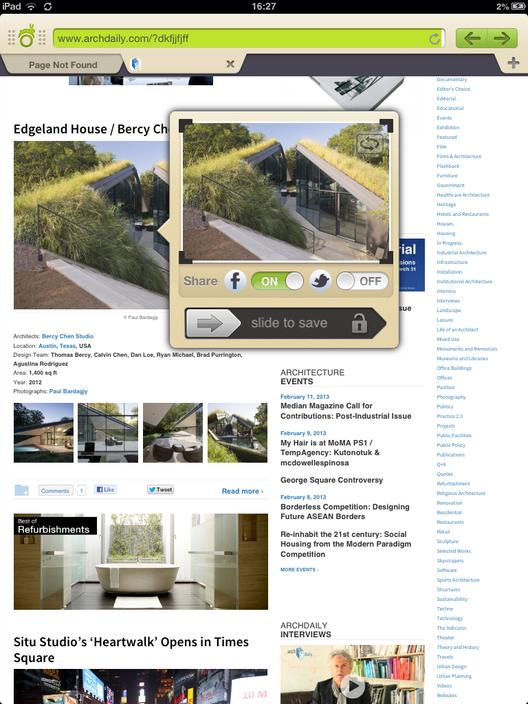 Aplicaci n para arquitectos webnotes plataforma for Aplicaciones para arquitectos