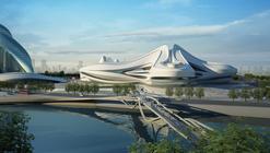 Centro Cultural Internacional Changsha Meixihu / Zaha Hadid Architects