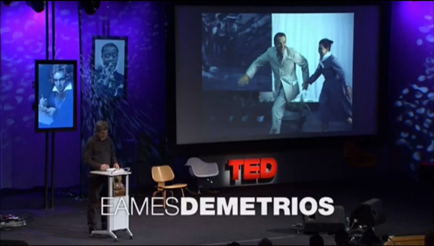 TEDx: The Design Genius of Charles and Ray Eames