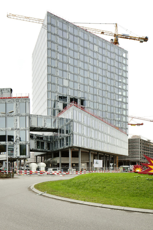 In Progress: Allianz Headquarters / Wiel Arets Architects, © Jan Bitter