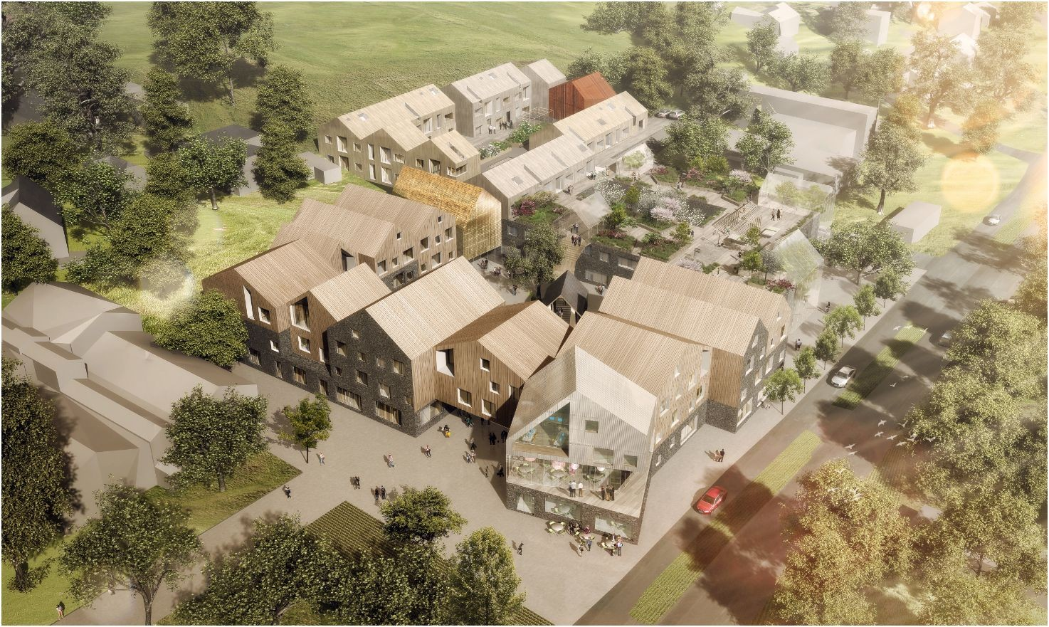 New Healthcare Center Winning Proposal / NORD Architects + 3RW Architects, Courtesy of NORD Architects + 3RW Architects