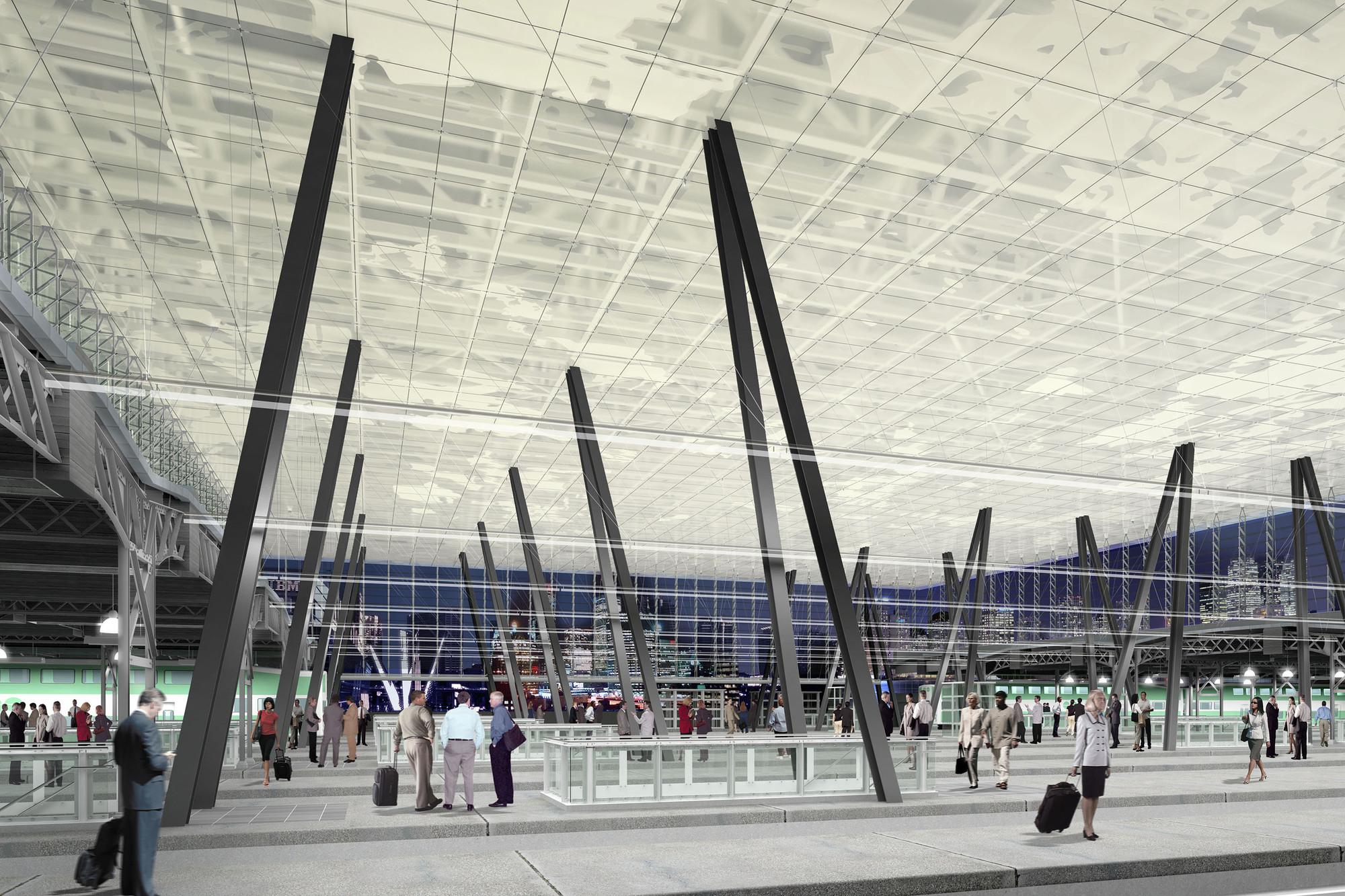 Toronto Union Station: Go Transit Roof Proposal / Zeidler Partnership Architects, Courtesy of Zeidler Partnership Architects
