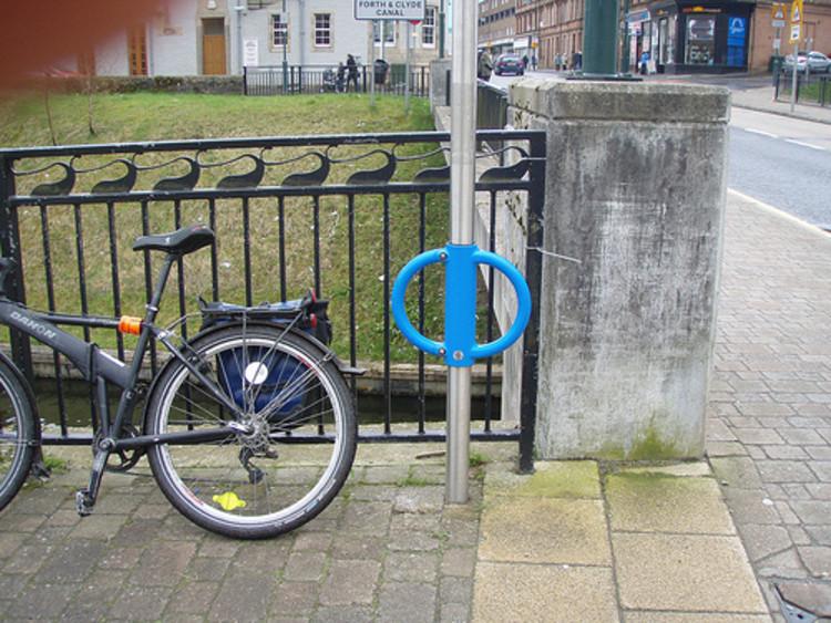 10 elementos a se considerar para implantar uma boa rede de estacionamentos para bicicletas na cidade, Foto por SATINONLINE