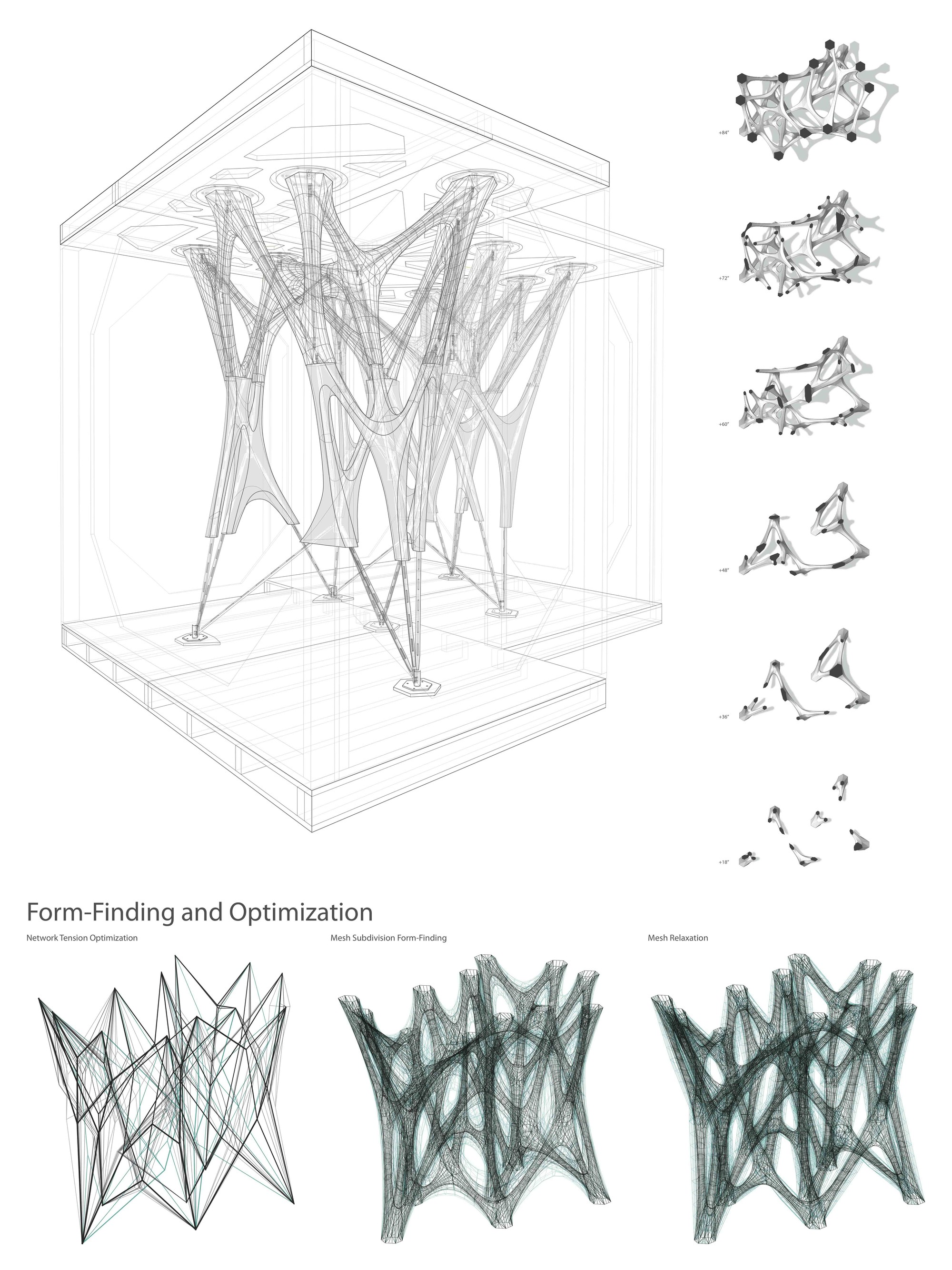 Circulation Patterns Architecture Gallery Of Applied Research Through Fabrication