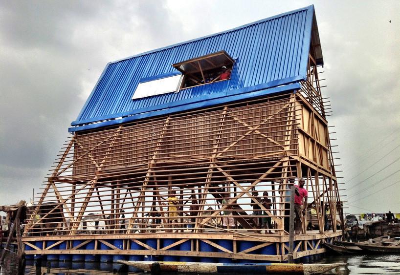 Image result for cube school makoko, lagos africa