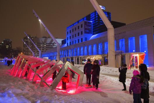 Courtesy of Martine Doyon, Montreal Quartier des Spectacles Partnership