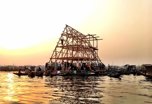 Makoko Floating School © NLÉ architects