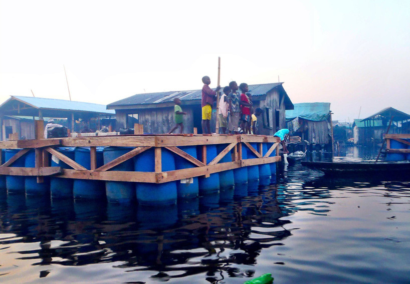 Makoko Floating School Nle Architects Archdaily