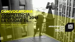"ARQFILMFEST abre convocatoria a Competencia de Filmes ""LA CIUDAD ES…"" 2013"