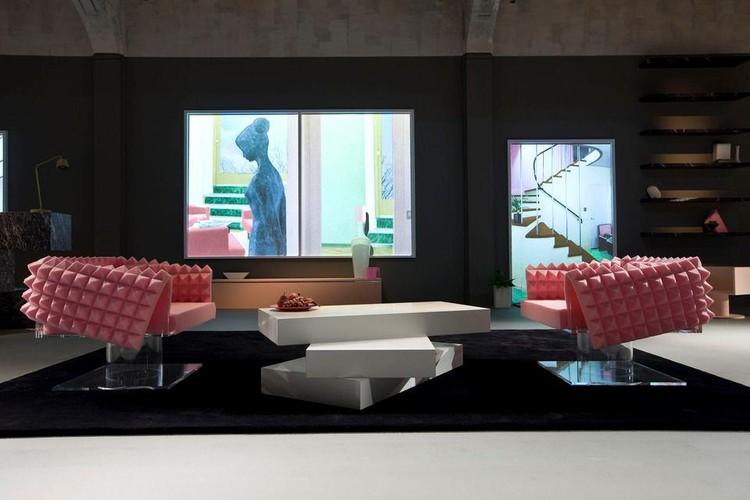 Nova coleção de móveis do OMA para Knoll, Cortesia de Dedece Design