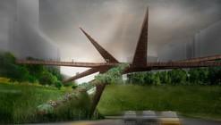 Puente Peatonal Miraflores / OOIIO Architecture