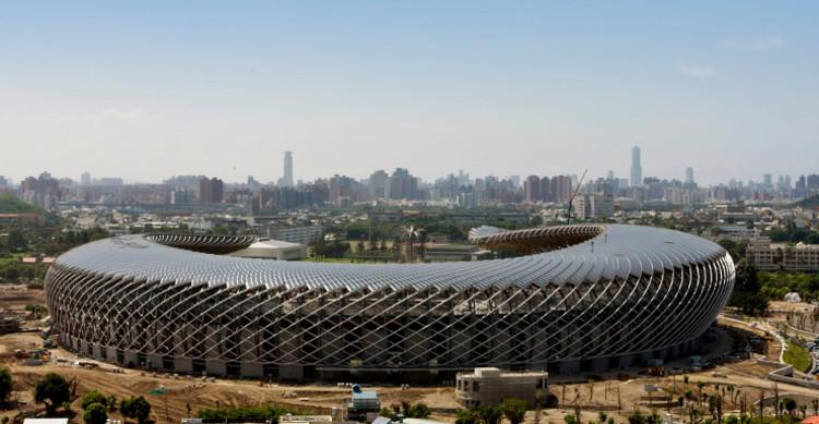 Estádio de Energia Solar de Taiwan / Toyo Ito & Associates, Estádio de Energia Solar de Taiwan por Toyo Ito