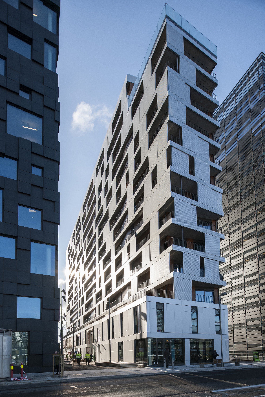 Apartment Building Facade Architecture