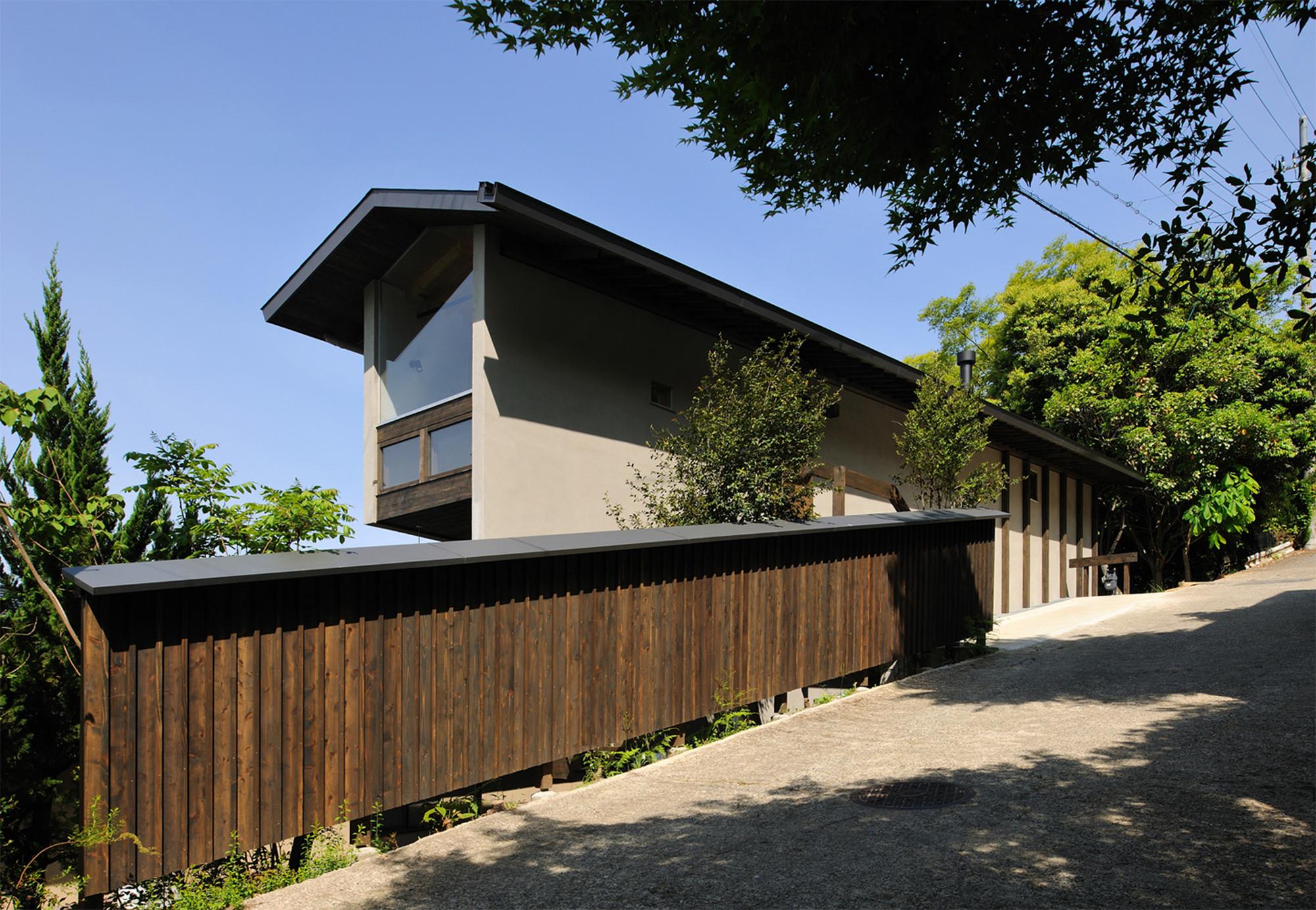 A house in Kamigamo / Méga, © Kei Sugino