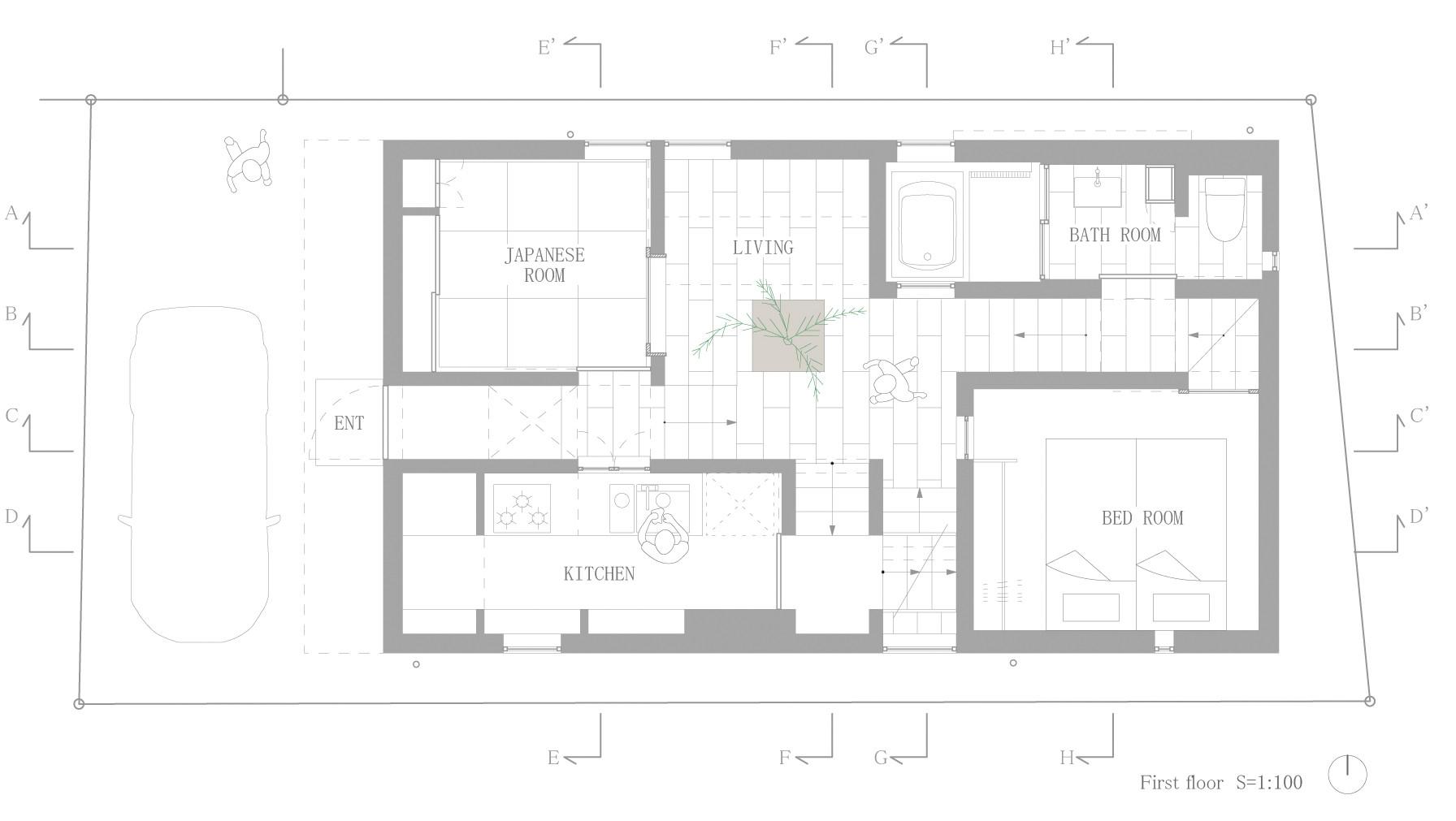 Galeria De Casa Em Goido Fujiwarramuro Architects 13